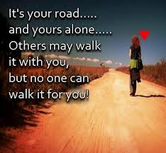 Quotes about walking alone Kego Onyido