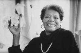 Maya Angelou Poem Alone