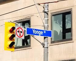 Yonge Street Longest Street in the World