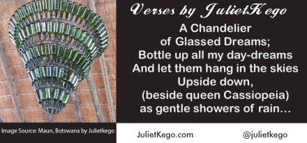 A Chandelier of Glassed Dreams -Floetry by JulietKego