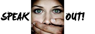 SPEAK OUT AGAINST DOMESTIC ABUSE