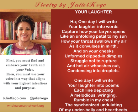 YOUR LAUGHTER- Floetry by JulietKego