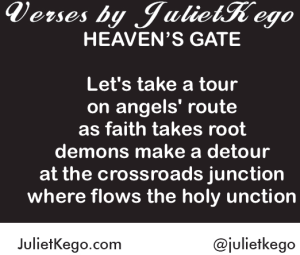 Heaven's Gate Floetry by Juliet Kego