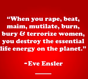 Eve Ensler's Quote on Rape